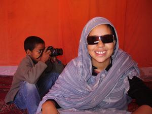 Marcha Internacional de Mujeres a los campamentos saharauis