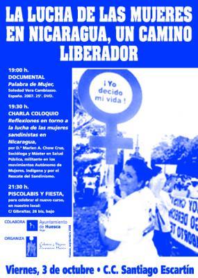 Las luchas de las mujeres en Nicaragua, un camino liberador