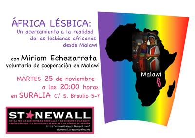 África lésbica