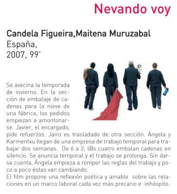Cinéfilas: 18.00 horas, Casa de la Mujer, Zaragoza