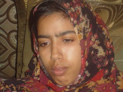 violación de una joven saharaui
