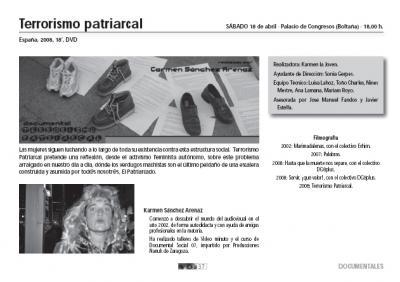 terrorismo patriarcal en Boltaña, Huesca