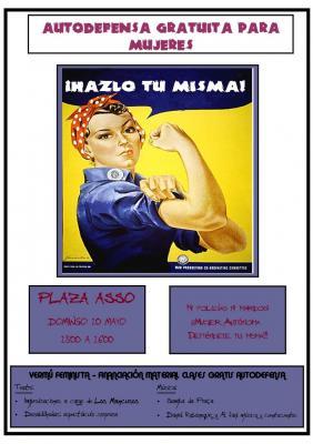 Vermú feminista; domingo 10 mayo