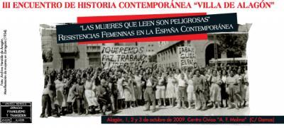 Resistencias femeninas en la España Contemporánea