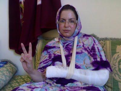 Sultana ha sido secuestrada por el ejército de ocupación marroquí