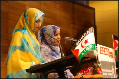 Huelga de hambre en solidaridad con Aminetu Haidar