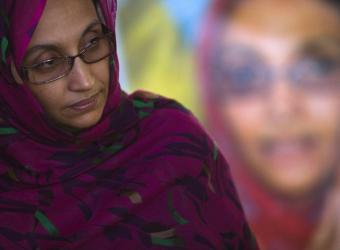 Mis hij@s vivirán sin madre, pero con dignidad. Aminetu Haidar