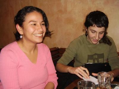 Café tertulia con Berta M. Sánchez