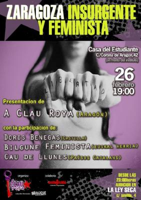 Zaragoza, insurgente y feminista