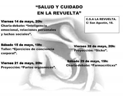 Jornadas Salud y Cuidados en CSA La Revuelta