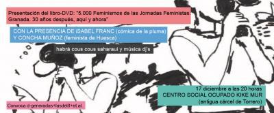 Presentación del libro-DVD: 5.000 feminismos de las Jornadas Feministas.
