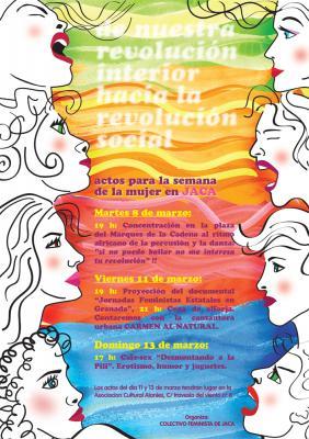 8 de marzo en Jaca, Huesca