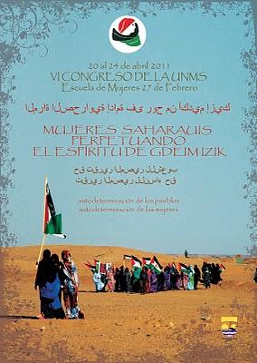 VI Congreso de la Unión Nacional de Mujeres Saharauis