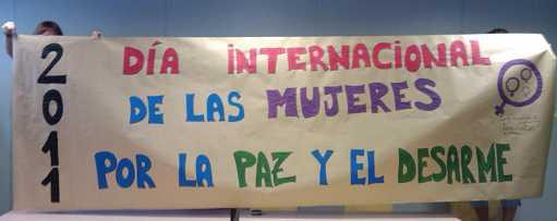 Día Internacional de las Mujeres por la Paz y el Desarme