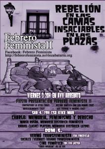 Primera semana de Febrero Feminista II