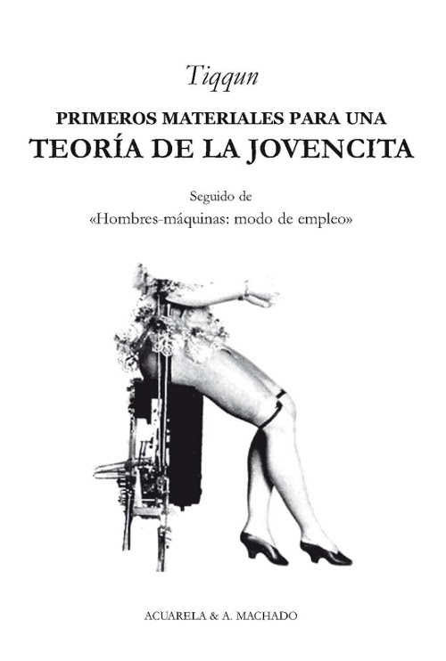 """""""Primeros materiales para una teoría de la jovencita"""""""
