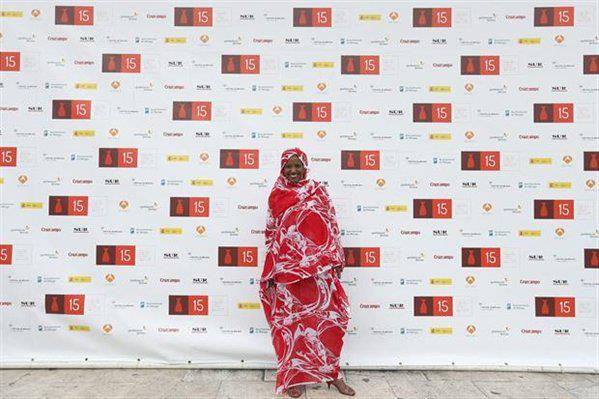 Aziza Brahim enhorabuena