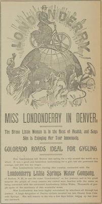 La primera mujer en dar la vuelta al mundo en bicicleta