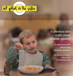 El plato o la vida – Nani Moré. En Boltaña y Huesca